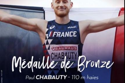 Paul Chabauty : médaille de ...